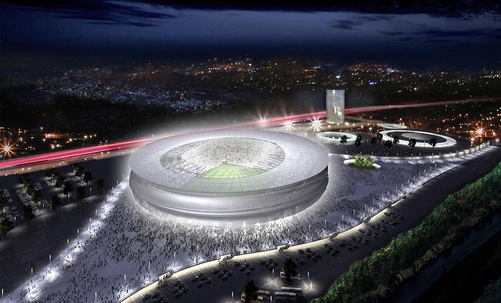 WM Stadion Breslau, Polen